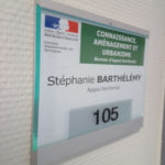 Plaque de porte PARIS 217