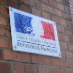 Marianne République française plexiglass